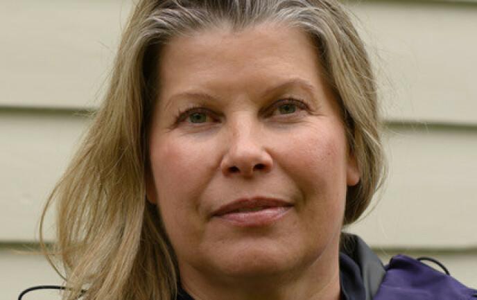 KLIMAFORSKER: Kikki Kleiven er direktør ved Bjerknessenteret for klimaforskning. Foto: Ellen Viste / Bjerknessenteret