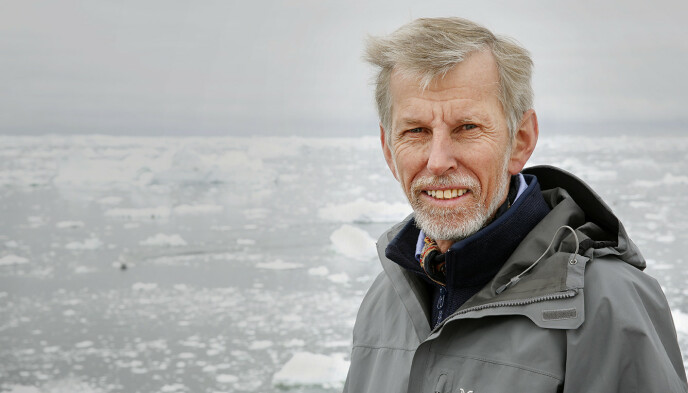 FLERE STEDER: Professor ved Universitetet i Oslo, Jon Ove Hagen, forteller at det er flere steder i verden hvor befolkningen er avhengig av smeltevann fra isbreene. Foto: Terje Heistad / NordForsk