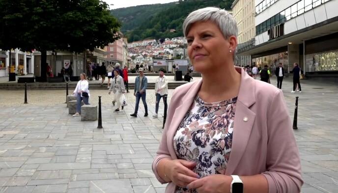 - MELD DERE: Helsebyråd Beate Husa ønsker at de rundt 35 000 uvaksinerte bergenserne nå melder seg til vaksinering. Foto: Magnus Paus / Dagbladet