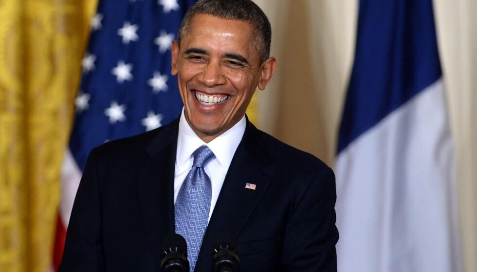 BURSDAGBARN: Tidligere president Barack Obama ble 60 på onsdag. Lørdag feiret han og hans 200 nærmeste. Arkivfoto: Jewel Samad / AFP / NTB