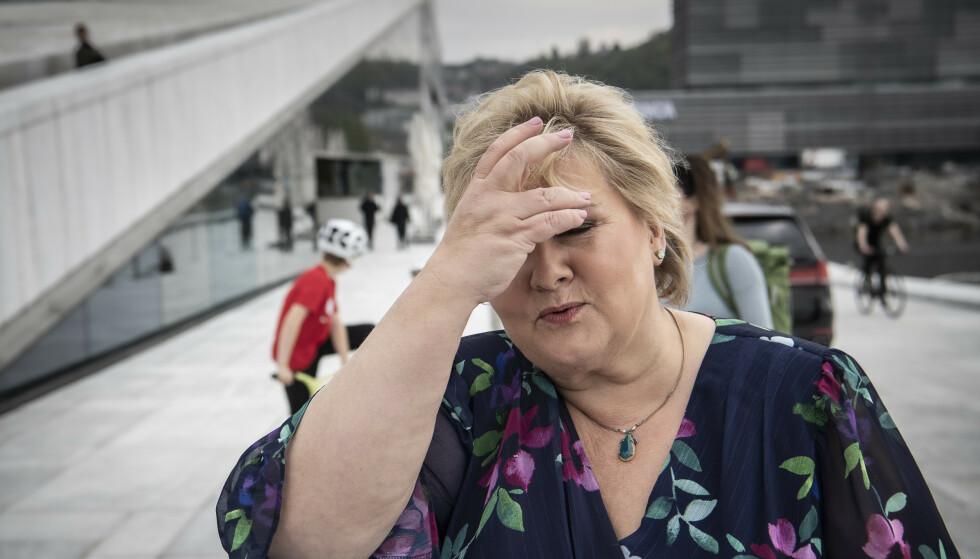 KRISE: Den dårligste målingen siden 1995. Foto: Lars Eivind Bones / Dagbladet