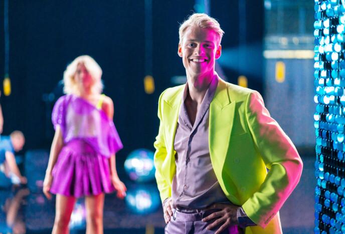 DRØMMER: Simon Nitsche har et mål om å lære seg å danse, men drømmer om å vinne hele greia. Foto: Espen Solli / TV 2