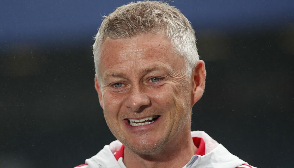 TÅLMODIG: Ole Gunnar Solskjær gir Donny van de Beek tid til å etablere seg. Foto: Reuters/NTB