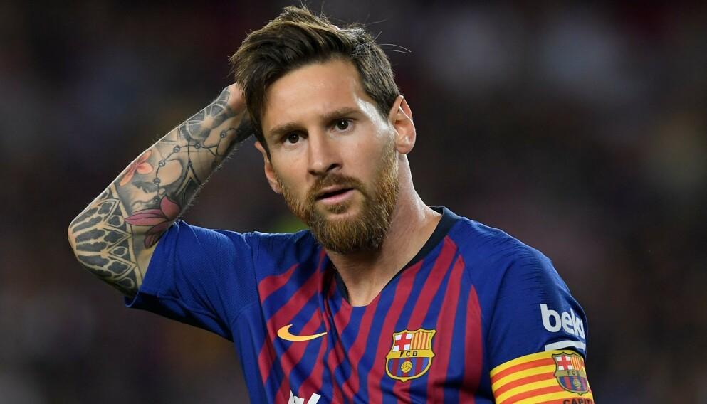 BEITE: Lionel Messi forlater Barcelona og skifter beite til den franske storklubben PSG. Foto: Lluis Gene/AFP/NTB