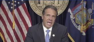 New York-guvernør Andrew Cuomo går av
