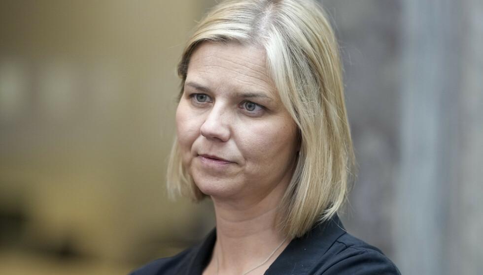 FÅ UKER: Kunnskapsminister Guri Melby (V) sier mange lærere vil bli fullvaksinert i løpet av få uker. Foto: Fredrik Hagen / NTB
