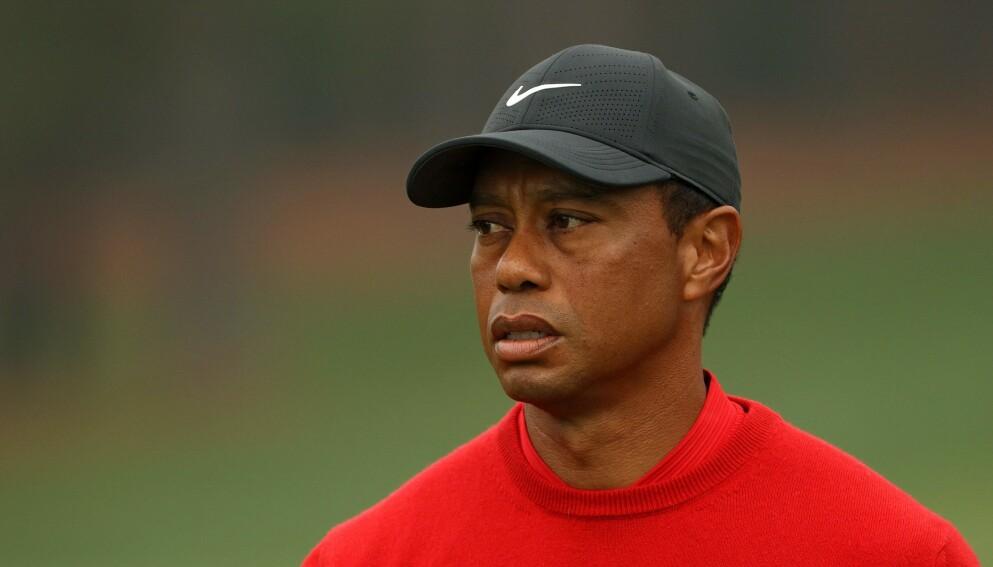 HÅP: Mange håper å få se Tiger Woods tilbake på golfbanen. Foto: Patrick Smith / GETTY IMAGES / AFP