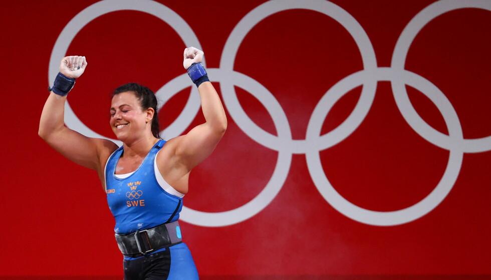 MISFORNØYD: Patricia Strenius ble nummer fire i årets OL, men langer likevel ut mot eget forbund. Foto: Reuters