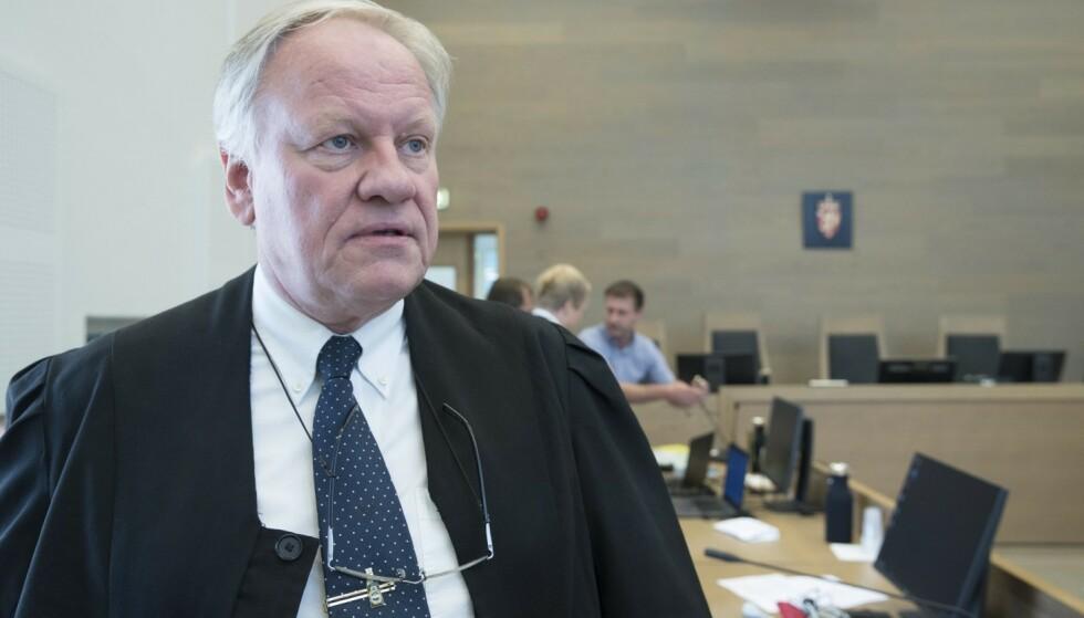 NEKTER: Advokat Sigurd Klomsæt nekter å levere saksdokumentene til Eirik Jensen. Foto: Terje Pedersen / NTB