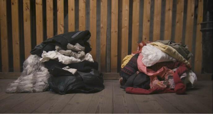 LAG TO HAUGER: Å rydde boden er en fin måte å kvitte seg med ting man egentlig ikke bruker.