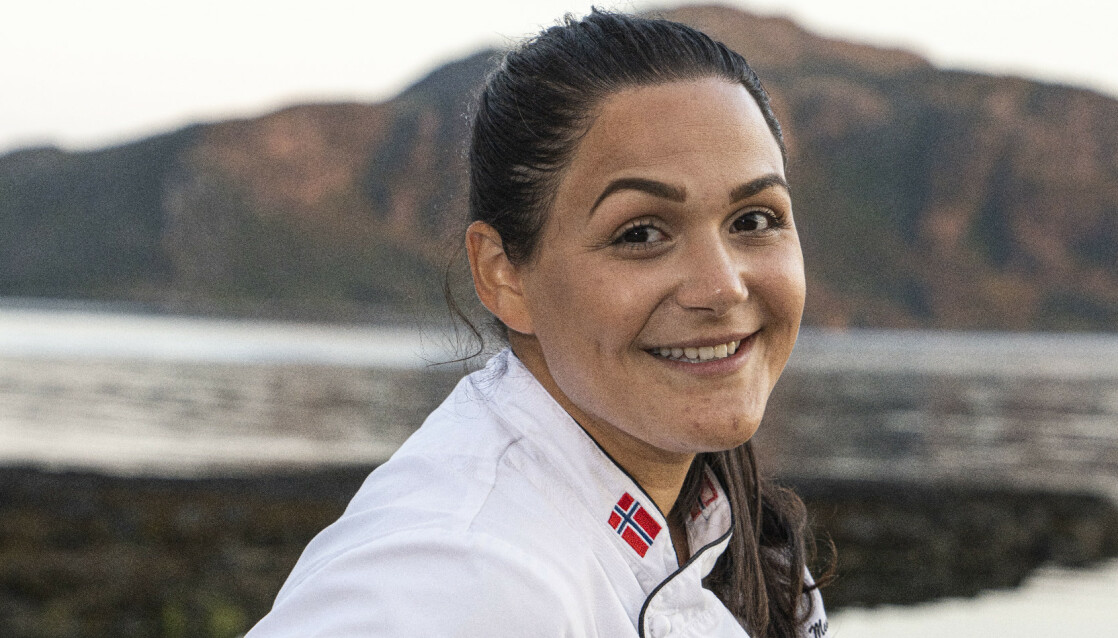MATGLEDE: Viviane har alltid elsket å lage mat, og fant et konsept som tilsynelatende passet fint for folk i bygda. Foto: Thor-Aage Bolseth Lillestøl / Photoevent