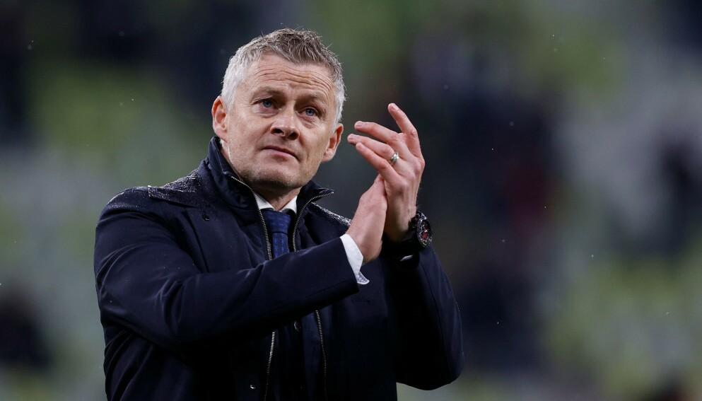 MÅ VISE NOE: Manchester United har forsterket laget med to stjernespillere i sommer. Ole Gunnar Solskjær bør vinne noe for å holde kritikerne stille. Foto: KACPER PEMPEL / POOL / AFP / NTB