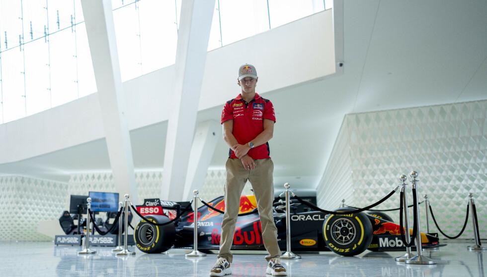 DRØM: Dennis Haugers store drøm er å konkurrere i det gjeve Formel 1-selskapet. Foto: Fredrik Hagen / Dagbladet