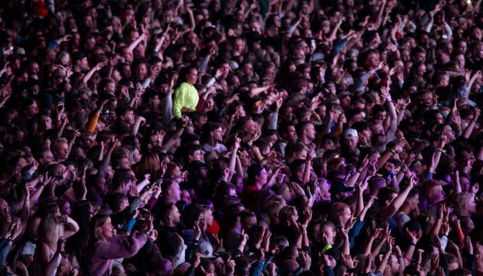 AVLYSER: Etter ukevis med tvil om Findings-festivalen kan arrangeres, har selskapet bak valgt å avlyse, da arrangementet ikke har fått status som testfestival. Foto: Frank Karlsen / Dagbladet