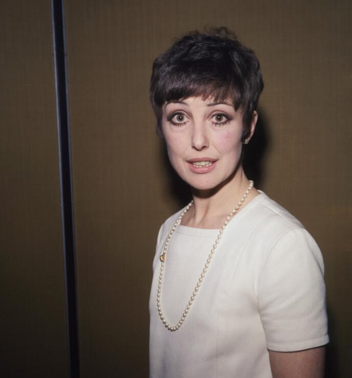 SYK: Skuespilleren var syk i tida før sin bortgang. Her er hun avbildet i 1968. Foto: NTB