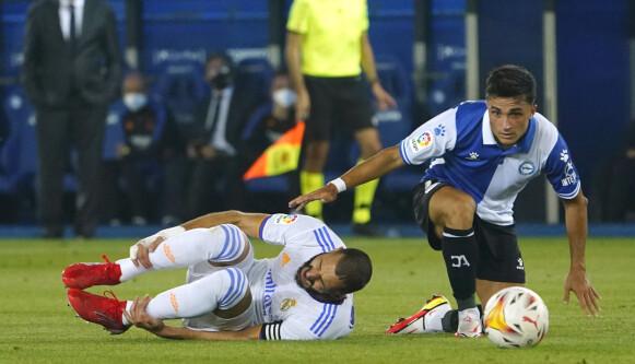 Slecht: Het was soms een huiveringwekkende strijd tussen de twee teams.  Foto: Reuters/Vincent West
