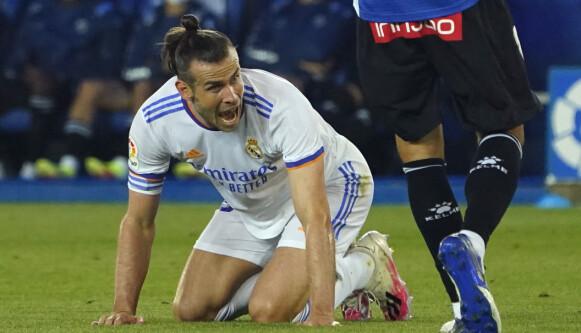 Huilen: Gareth Bale is terug vanaf het begin voor Real Madrid.  Foto: Vincent West/Reuters