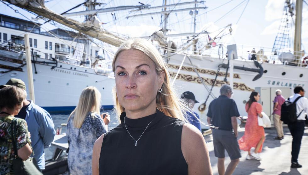 SLÅR ALARM: Forsker Ingrid Sørdal Følling er i Arendal for å slå alarm om folkesykdommen. Foto: Hans Arne Vedlog / Dagbladet