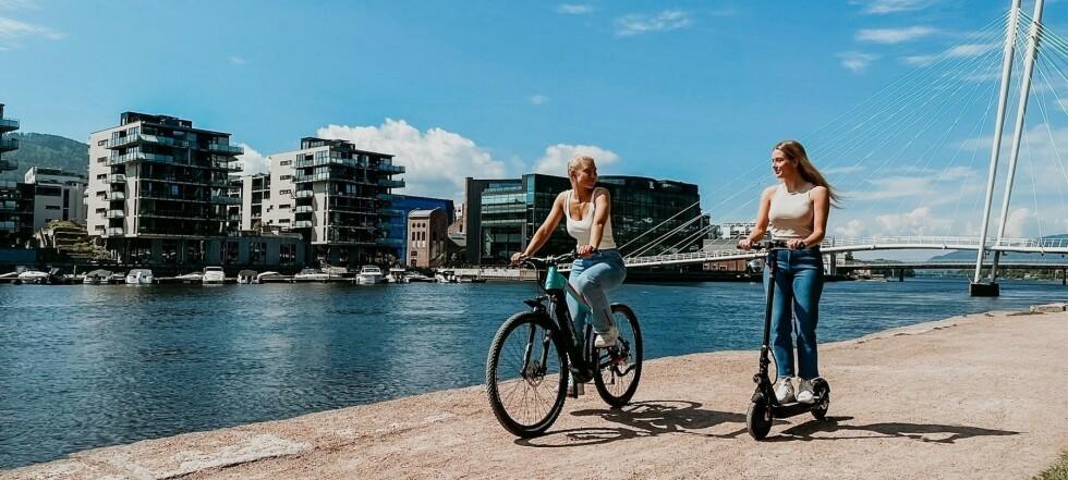 I migliori del test: gli scooter elettrici più venduti in Norvegia