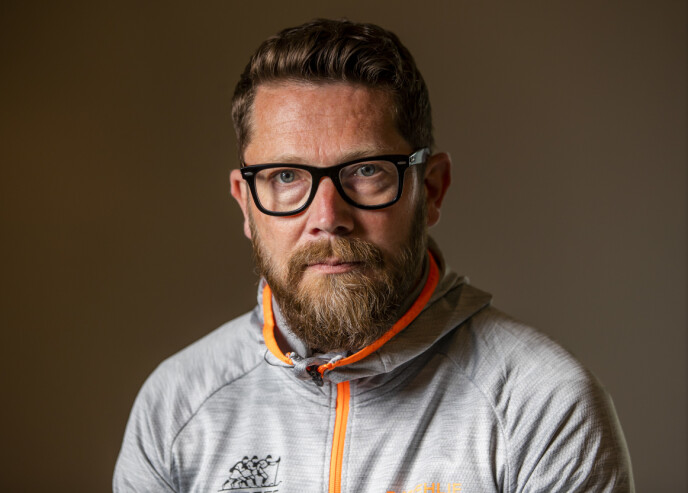 KOMMUNIKASJONSSJEF: Espen Graff i Norges Skiforbund. Foto: Håkon Mosvold Larsen / NTB