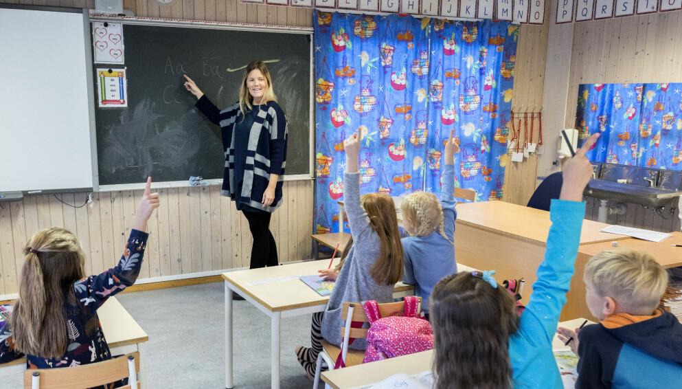 LÆRINGSPOTENSIAL: Alle skoleelever fortjener å bli sett. Også de med ekstra stort læringspotensial, skriver innsenderen. Foto: Gorm Kallestad / NTB