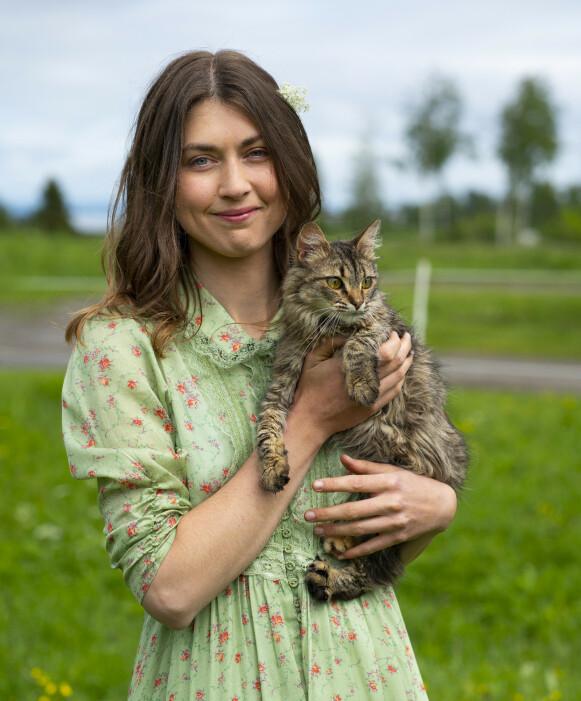 SPENT: Tina Kristiansen er spent på å se seg selv på skjermen i høst. Foto: Espen Solli / TV 2