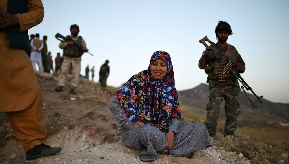 Strange for the Taliban: Until last week, Salima Mazari was a district governor in male-dominated Afghanistan, previously critical of the Taliban.  Photo: FARSHAD USYAN / AFP