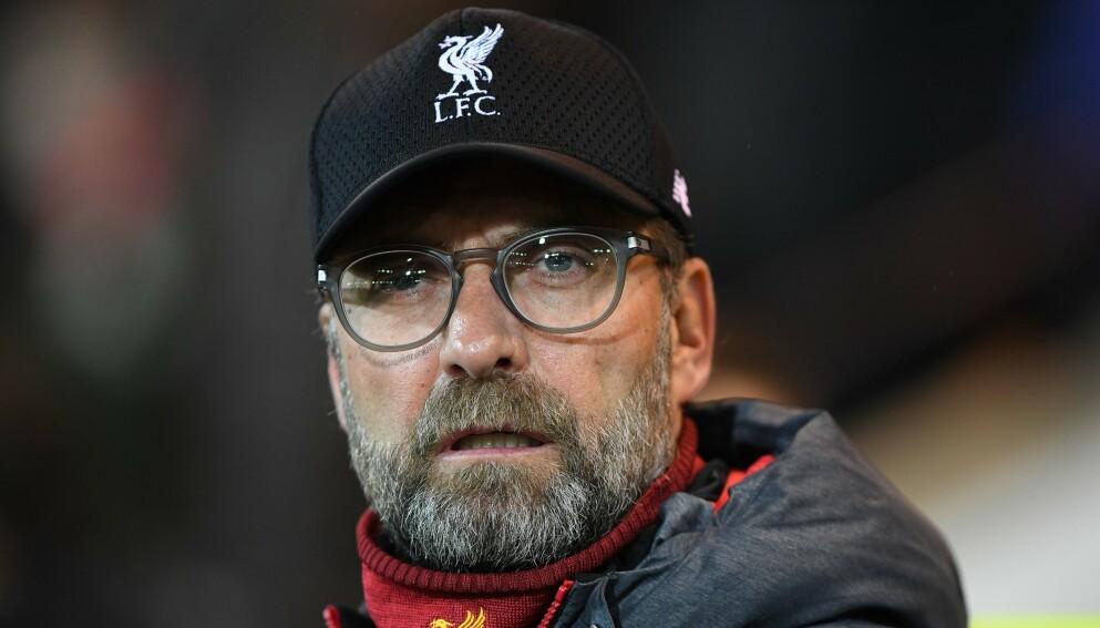 IRRITERT: Liverpool-manageren reagerer på oppførselen til sine supportere i sesongåpningen. Foto: Shutterstock editorial