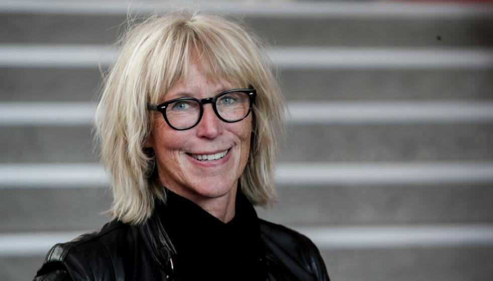 SLUTTER: Etter 35 år i statskanalen går kulturkommentator Agnes Moxnes av med pensjon. Foto: Vidar Ruud / NTB