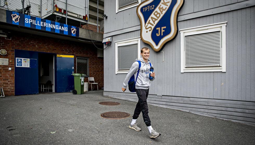 KOM TILBAKE: Aleksander Andresen har nettopp debutert for Stabæk i Eliteserien. Foto: Bjørn Langsem / Dagbladet