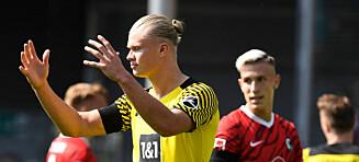 Haaland usynlig i Dortmund-skrell