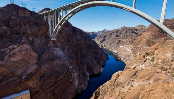 Binnenkort: Lake Mead is nu voor slechts 35 procent vol.  Foto: Allen J. Schaben / Los Angeles Times
