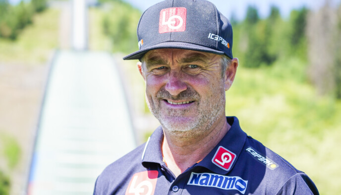 I HARDT VÆR: Sportssjef Clas Brede Bråthen. Foto: Håkon Mosvold Larsen / NTB