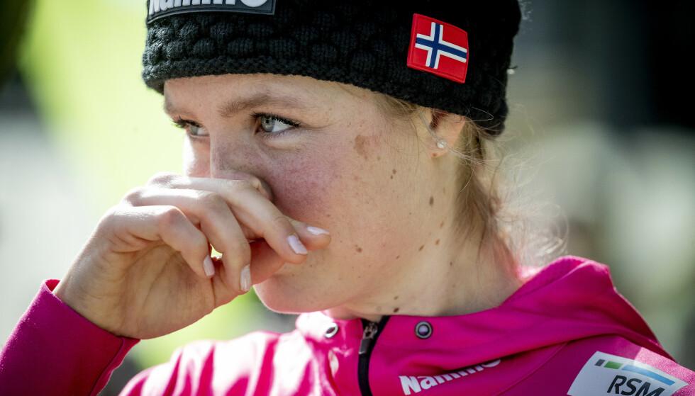 ÅPEN OM PROBLEMENE: Skihopper Maren Lundby står fram. Foto: Bjørn Langsem / Dagbladet