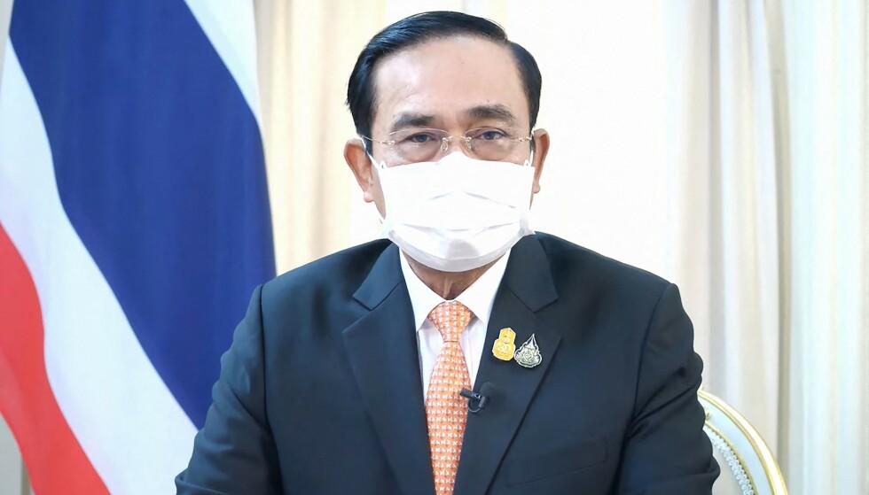FULL ETTERFORSKNING: Thailands statsminister Prayut Chan-O-Cha har ifølge flere medier beordret full etterforskning av angivelig tortur og utpressing av en narkomistenkt på en politistasjon i landet. Foto: Thailands regjering/AFP/NTB Scanpix
