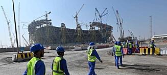 Knusende Qatar-rapport: - Døde i søvne