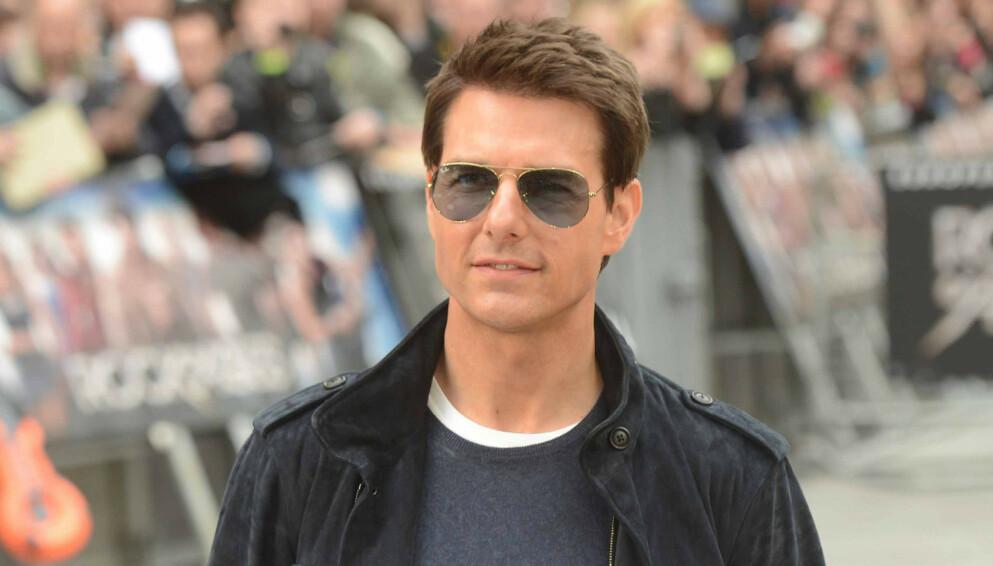 HASTVERK: Det ble knapt med tid for Tom Cruise da han skulle lande på Coventry Airport. Foto: Paul Treadway / Shutterstock / NTB