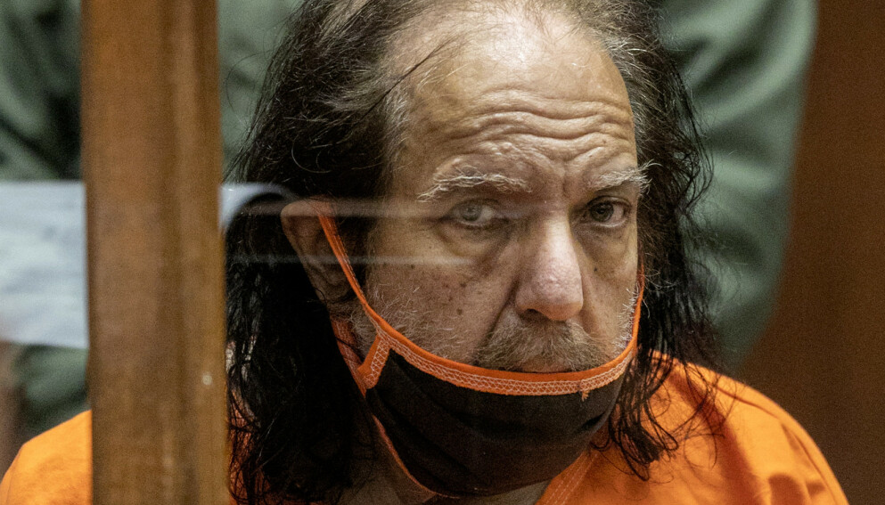 RISIKERER LIVSTID: Ron Jeremy risikerer over 300 års fengselstraff for seksuelle overgrep. Foto: David McNew/AP/NTB