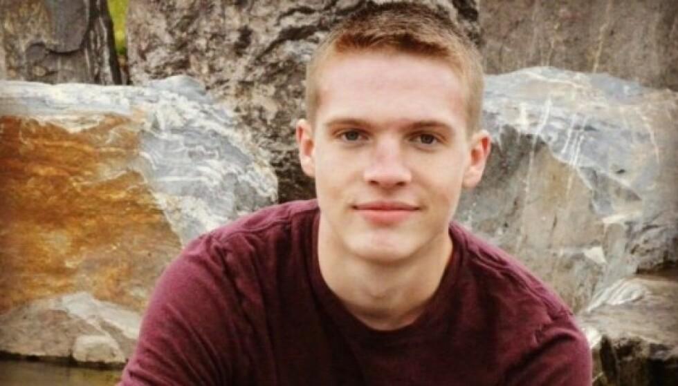 DØDE: Dustin Wakefield mista livet etter å ha blitt skutt gjentatte ganger i Miami. Hans kone og ettårige sønn var til stede da Wakefield ble skutt. Foto: Skjermbilde / Go Fund Me