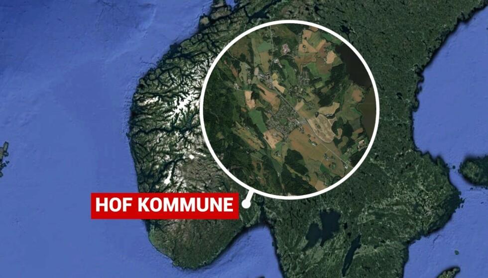 DØDE: En mann er bekreftet omkommet etter en klemulykke i Vestfold og Telemark. Foto: Google Maps