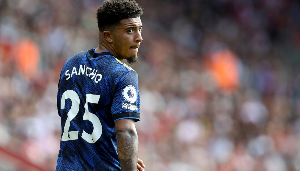 HEFTY FEE: Jadon Sancho became of Man United's most expensive players this summer. Paul Terry / Sportimage via PA Images