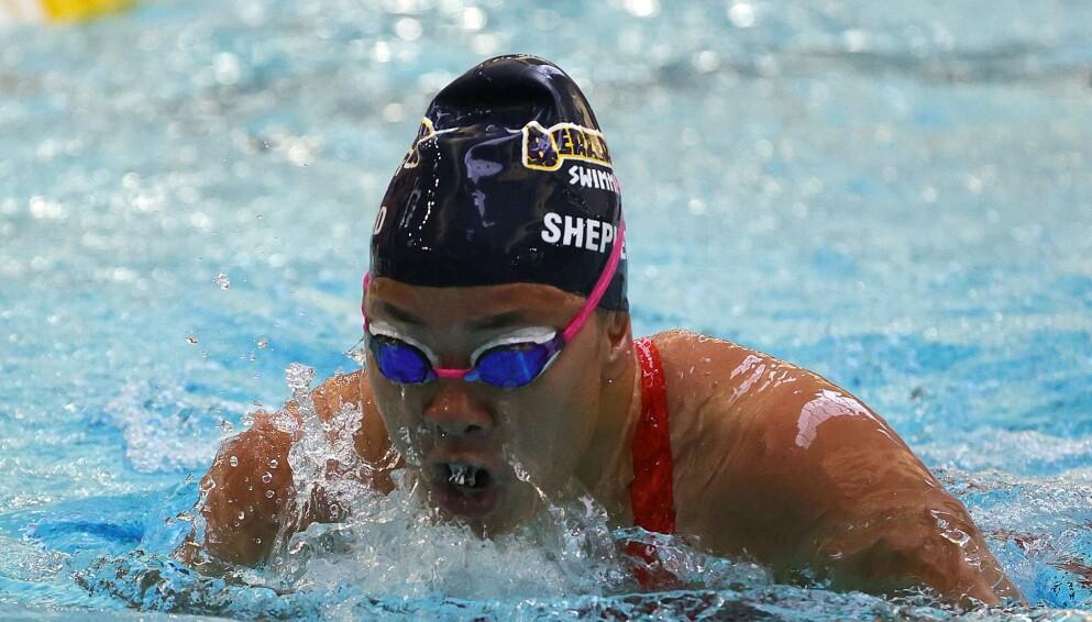 MIRAKEL: Haven Shepherd skal kjempe om gull i Paralympics drøyt 17 år etter hun ble forsøkt drept av sine egne foreldre. Foto: Stacy Revere/ Getty Images/ AFP