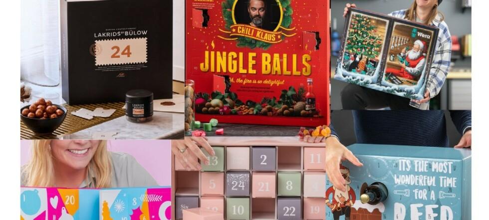 Julekalendere og adventskalendere julen 2021