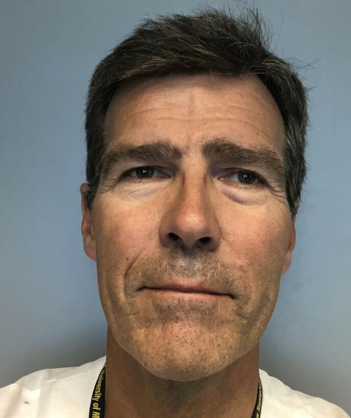 HAR TROA: Transplantasjonskoordinator Stein Foss ved OUS-Rikshospitalet har god tro på at den nye transplantasjonsmetoden blir innført i Norge, og sier han er klar til å gå i gang. Foto: Privat