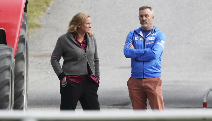 JOBBER MED STEVNING: LO-advokat Marit Håvemoen representerer Clas Brede Bråthen. Foto: Geir Olsen / NTB