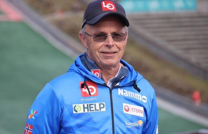 LEDER AV HOPPKOMITEEN: Alf Tore Haug. Foto: Geir Olsen / NTB