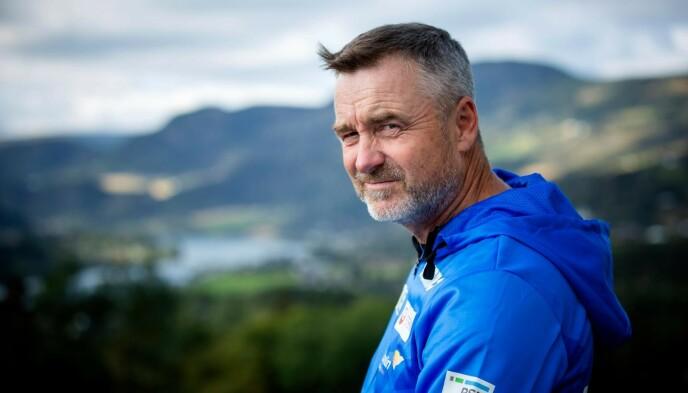 I STORM: Clas Brede Bråthen har vært sportssjef for hopperne siden 2004. Foto: Nina Hansen / Dagbladet