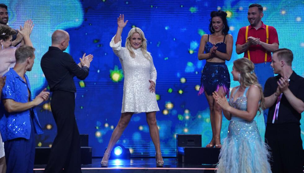 OVERRASKER: Årets «Skal vi danse» bød på overraskelser allerede fra start. Foto: Espen Solli / TV 2