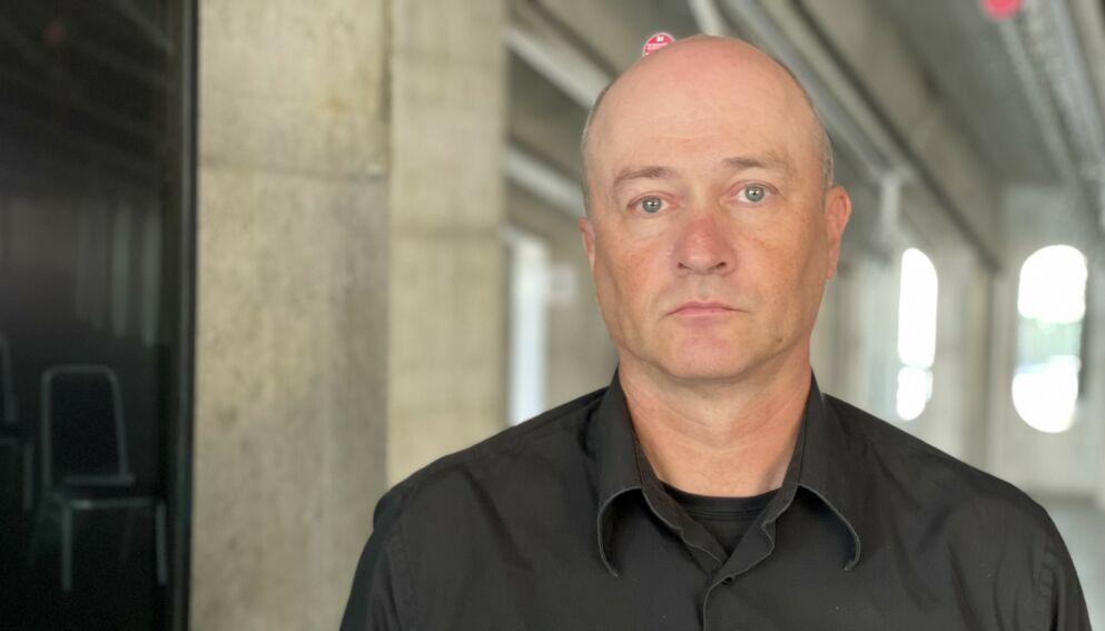 IKKE STRAFF: Knut Røneid jobber iherdig for å fjerne straffesporet i ruspolitikken. Han mener sønnen Kristoffer hadde vært i live hvis det ikke var for at han ble straffet for rusbruk. Foto: Jørgen Gilbrant
