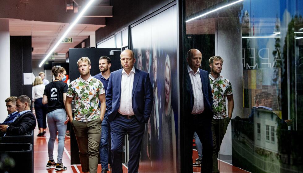SLET: Senterparti-leder Trygve Slagsvold Vedum. Foto: Nina Hansen / Dagbladet